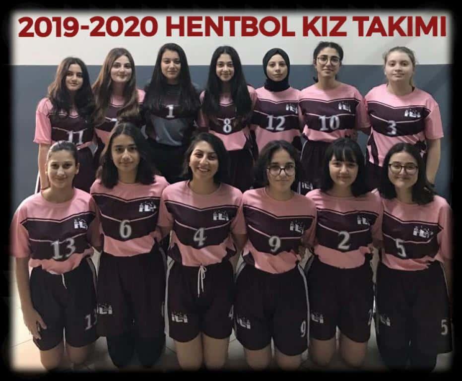 2019-2020 Hentbol Kız Takımı