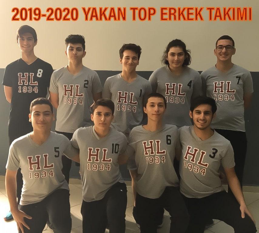2019-2020 Yakan Top Erkek Takımı