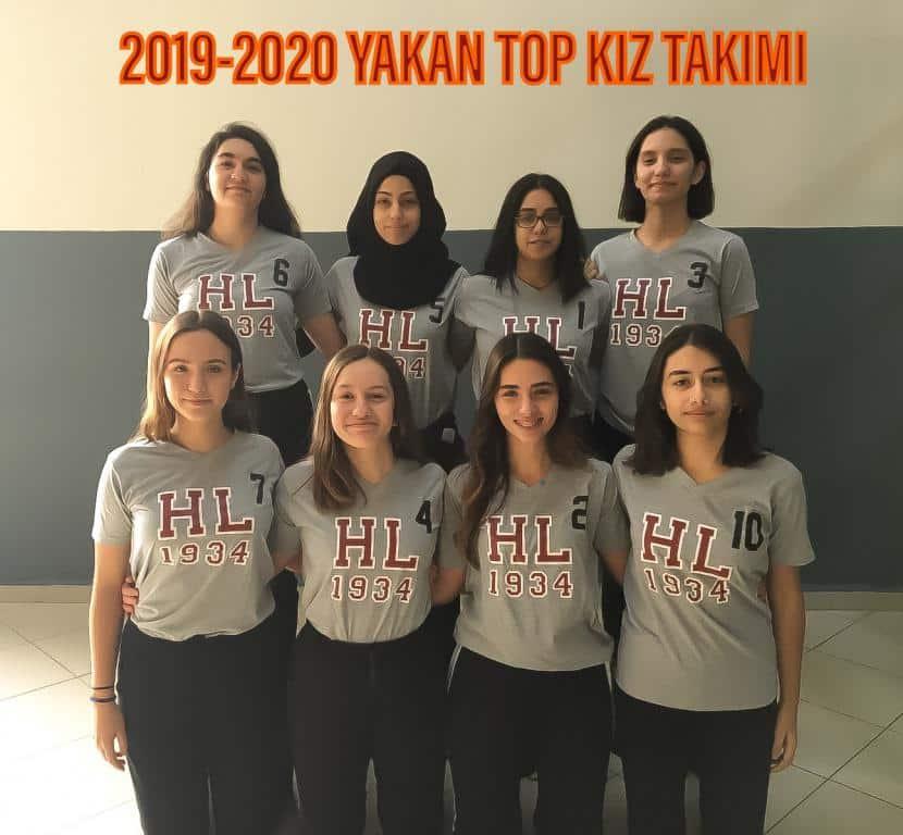 2019-2020 Yakan Top Kız Takımı