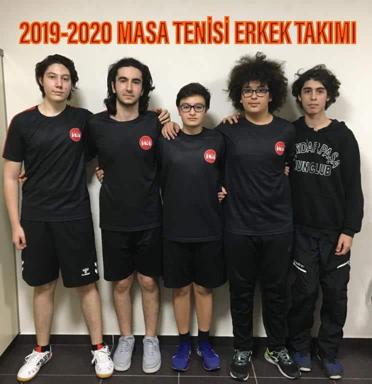 2019-2020 Masa Tenisi Erkek Takımı