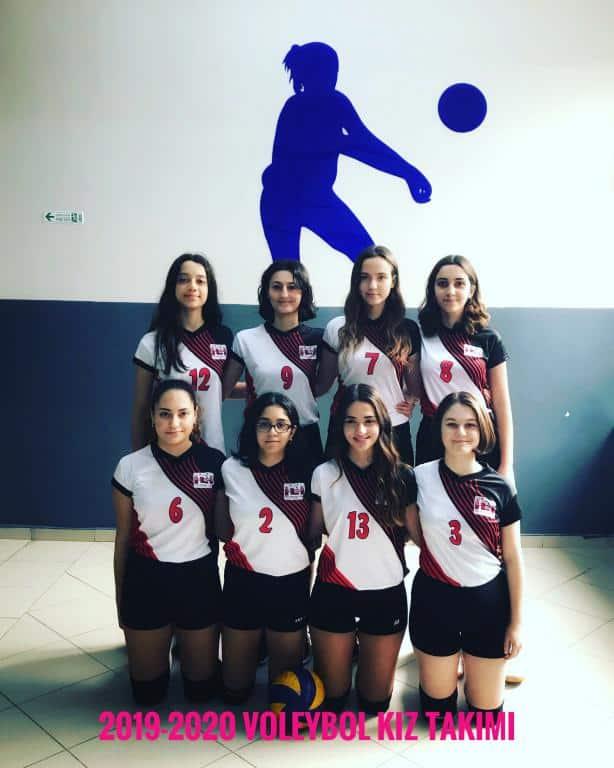 2019-2020 Voleybol Kız Takımı